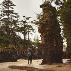 Exploring Cape Scott Provincial Park on Northern Vancouver Island.  Photo; @_ryandickie via Instagram  #exploreBC #exploreCanada