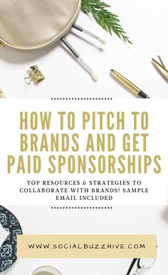 This post will go over all the best ways to pitch your collaboration idea to brands and give you examples of how to do so in order to get sponsorships for your blog or website. This can bring in some top income for your blog as well as drive significantly more traffic to it in order to monetize other areas more successfully.#brands #workonline #onlinebusiness #makemoneyonline #moneyonline