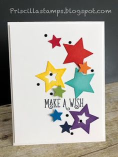 See distinct bday their personal gifts and wonderful ideas for birthday party lays out for every individual on your private present list. Simple Birthday Cards, Happy Birthday Cards, Mom Cards, Kids Cards, Star Cards, Making Greeting Cards, Card Sketches, Paper Cards, Scrapbook Cards