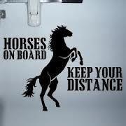 horse trailer sticker - Google Search