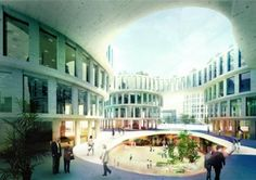 MVRDV start construction of business district at Shanghai Hongqiao Airport after winning competition