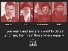 #ISIS crimes don't amount to 1% of Assad crimes. Yet, the world goes after ISIS & let the mass killer carry on #Syria