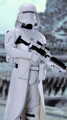 First Order Snow Trooper 2880 x 5120 px