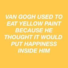 "technicallity: "" yellow paint. """