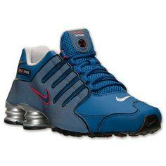 Nike Men's Shox Nz Eu Running Sneakers from Finish Line Mens Nike Shox, Nike Shox Shoes, Nike Air Shoes, Nike Men, Men's Shoes, Shoe Boots, Shoes Sneakers, Air Jordan, Best Running Shoes
