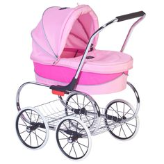 Pink Doll Pram at The Animal Rescue Site