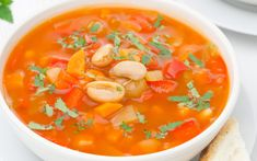 Detox Soup, Thai Red Curry, Ethnic Recipes, Food, Fitness, Diet, Essen, Meals, Yemek