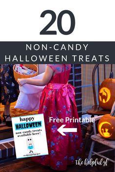 20 non-candy Hallowe