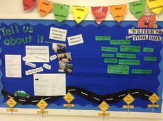 Children in year 6 are using their writing working wall to develop their understanding of biographies.