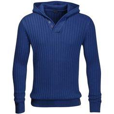 Lässiger Kapuzenpullover mit Knöpfen ab 39,99 € ♥ Hier kaufen: http://stylefru.it/s499583 #Kapuzenpullover #Pullover #Strickpullover