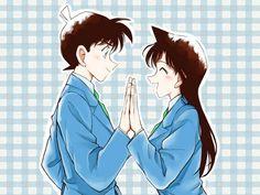 --Shinichi and Ran Mori--