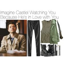 Imagine Castiel Watching You Because He's in Love with You Sammy Supernatural, Supernatural Cosplay, Supernatural Imagines, Supernatural Inspired Outfits, Avengers Outfits, Fandom Outfits, Joker And Harley, Misha Collins, Cosplay Outfits