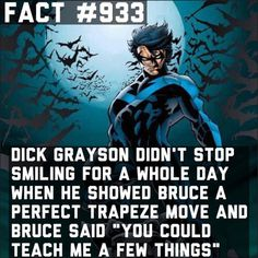 I wouldnt stop smiling  by superhero_facts_daily x...