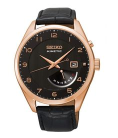 Seiko Watches are the Premier Men's Automatic Watch for Kinetic, Quartz & Mechanical Movement. Seiko Watch USA leads in GPS Solar Technology discoveries while Seiko Dive, Field, Seiko 5 Sport & Military Watches are engineered to be the ever-lasting watch. Seiko 5 Sports, Neo, Seiko Men, Automatic Watches For Men, Rose Gold Watches, Mens Watches Leather, Bracelet Cuir, Watch Model, Seiko Watches