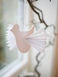 Knutselen duif