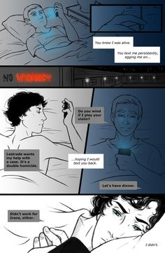 John texting Sherlock after the Fall (this is not ok!!) x'O