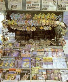 newsstand, Mexico City. From Facebook Page La Ciudad de Mexico en el Tiempo