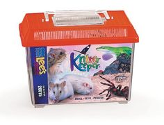 Lee's Kritter Keeper, Rectangle with Lid - Small, Assorted Colors - http://www.petsupplyliquidators.com/lees-kritter-keeper-rectangle-with-lid-small-assorted-colors/