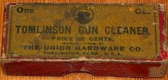 Tomlinson Gun Cleaner made by The Union Hardware Company, Torrington, Connecticut