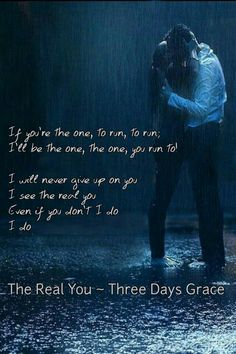 The Real You, Three Days Grace