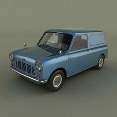 Austin Mini Van Model in Van and Minivan Classic Mini, Vans Classic, Mini Morris, Panel Truck, Mini Vans, Mini Stuff, Scooters, Woody, Minis