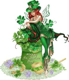 Erin go Bragh! St Patricks Day Pictures, St Patricks Day Quotes, Saint Patricks Day Art, Happy St Patricks Day, Best Wishes Images, San Patrick Day, Yorkshire Rose, Fairy Pictures, Fantasy Creatures