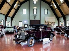 Hundreds of rare cars and auto artifacts make the Gilmore Car Museum a great day trip