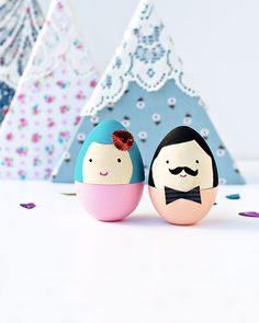 diy oeuf pâques personnage