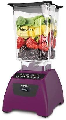 Blendtec Classic 575 Blender with WildSide + Jar - Add a purple bender to your purple kitchen, or as an accent for a mostly white, tan or grey kitchen - #purplekitchen #purpleblender #kitchenaccessories #funkthishouse #affiliatelink