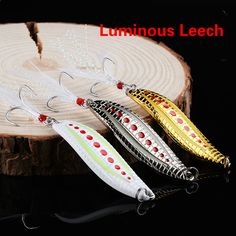 Sea Colorful Trout Spoon Metal Fishing Lures Spinner Baits Mix Type Choice MA