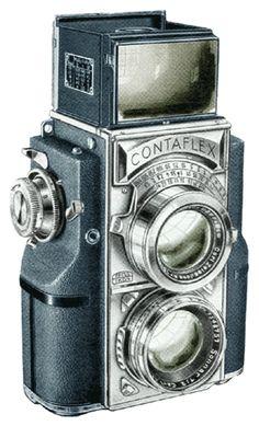 Contaflex TLR Camera at Historic Camera - History Librarium