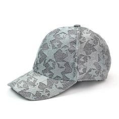 cd7b843e2681c Stars Grey Color Fashion Caps  CashyFlow  Store