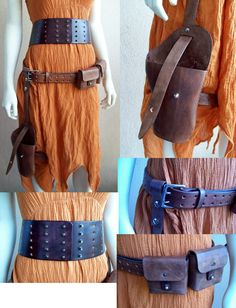 Made to Order  River Song Leathers - I have the wide belt from this seller and it's fantastic work!