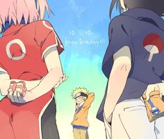 Happy Birthday Naruto!!!!   ps. I don't know his real birthday, just like this picture