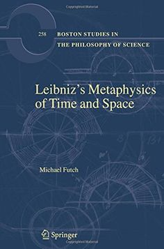Leibniz's Metaphysics of Time and Space (Boston Studies in the Philosophy and History of Science) by Michael Futch http://www.amazon.com/dp/9400789432/ref=cm_sw_r_pi_dp_ojt2ub0ADXAQ7