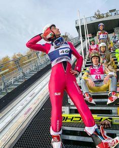 """Polubienia: 4,145, komentarze: 90 – Kamil Stoch (@kamilstochofficial) na Instagramie: """"Dawajcie te memy! Ja ma dwa 😂 1. W skokach najważniejsze to przyjąć odpowiednią pozycję 😜 2. Kiedy…"""" Best Skis, Ski Jumping, Everything And Nothing, Skiing, Football, Sports, Emperor, Jumpers, Model"""