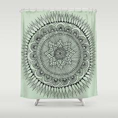 ANGELINA BOWEN: Shower Curtains @Society6