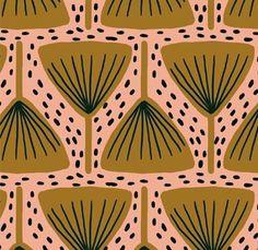 geometric yet organic pattern
