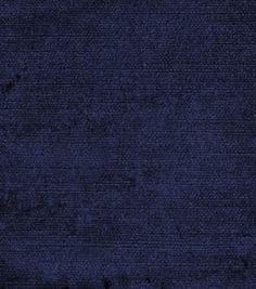 Home Decor Solid Fabric-Jaclyn Smith Island-Indigo : home decor solid fabric…