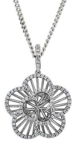 Amore Argento Contour necklace