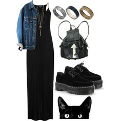 """DARK"" by ohsweetmelancholia on Polyvore"