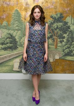 Carey Mulligan wearing Erdem. #BFA