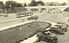 Viaduct dari kantor gubernur 1952