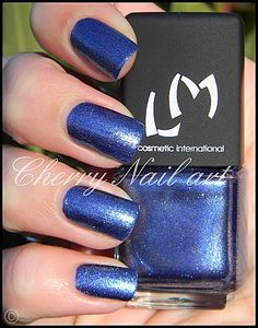 vernis lm cosmetic n°192 bootcut collection blue jeans