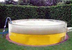 Gloobalteam: A pool full of beer / Una piscina llena de cerveza...