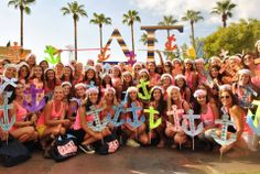 Delta Gamma at Arizona State University #DeltaGamma #DG #BidDay #anchor #letters #sorority #ASU