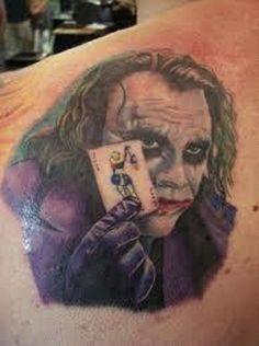 Joker Card Miami Ink Tattoo Designs ~ http://tattooeve.com/unique-tattoo-designs/ Tattoo Design