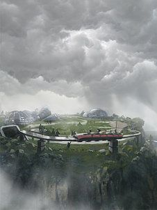 OEHMAN Design   ILLUSTRATIONER KRAFT - Powers of Nature Visualization of an amusement park in the pipeline see more at www.kraftnet.com Made for innovationlab  in collaboration with Rasmus Berggreen