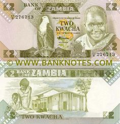 Zambia 2 Kwacha Reverse: Education: teacher with student and a school building. Obverse: President Kenneth David Kaunda (born April served as the first President of Zambia, from 1964 to Money Bank, Special Olympics, School Building, Coat Of Arms, Coins, Education, World, Paper, Amazon