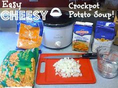 Keeley McGuire: Food for Thought: Crock Pot Love - Cheesy Potato Soup